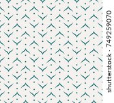 vector seamless pattern and... | Shutterstock .eps vector #749259070