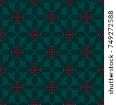 simple seamless pattern.... | Shutterstock .eps vector #749272588
