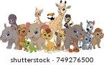 vector illustration set of... | Shutterstock .eps vector #749276500