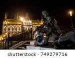 budapest  hungary january 2 ...   Shutterstock . vector #749279716
