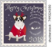 Postage Stamp With A Chihuahua...