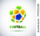 football championship banner.... | Shutterstock .eps vector #749332180