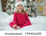 children in christmas | Shutterstock . vector #749401690