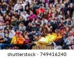 athens  greece   oct 31 2017 ... | Shutterstock . vector #749416240