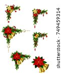 christmas elements for your... | Shutterstock .eps vector #749459314