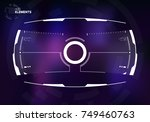 sci fi screen design ...