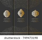 vector emblem. can be used for... | Shutterstock .eps vector #749473198