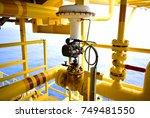 pressure control valve in oil... | Shutterstock . vector #749481550
