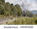steam engine ukraine | Shutterstock . vector #749493589