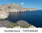maltese coast | Shutterstock . vector #749530630
