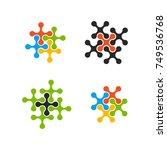 design logo element. affiliate... | Shutterstock .eps vector #749536768