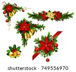 christmas elements for your... | Shutterstock .eps vector #749556970