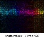 multicolor abstract lights... | Shutterstock .eps vector #74955766