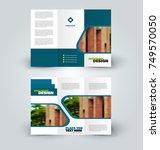 brochure template. business... | Shutterstock .eps vector #749570050
