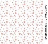 vector seamless pattern.... | Shutterstock .eps vector #749570299