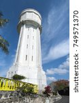 Small photo of The tall Water Tower in Nassau, the capital of The Bahamas.
