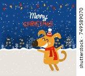 cartoon illustration for... | Shutterstock .eps vector #749589070