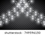 christmas lights isolated... | Shutterstock .eps vector #749596150