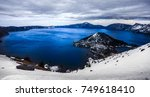 Winter On Crater Lake  Crater...