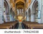shrewsbury  england   october... | Shutterstock . vector #749624038