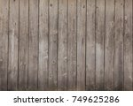 barn wood background | Shutterstock . vector #749625286