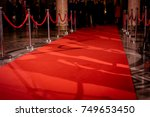 red carpet at an exclusive event | Shutterstock . vector #749653450