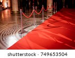 red carpet at an exclusive event | Shutterstock . vector #749653504