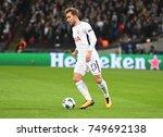 london  uk   november 1  2017 ... | Shutterstock . vector #749692138