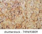 natural stone granite texture... | Shutterstock . vector #749693809