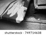 Rusty Damaged Metal Sill...