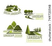 gardening or green landscape... | Shutterstock .eps vector #749720548