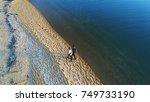 aerial view. people walking...   Shutterstock . vector #749733190