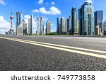 shanghai lujiazui financial... | Shutterstock . vector #749773858