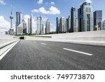 shanghai lujiazui financial... | Shutterstock . vector #749773870