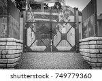 industrial power grid plant... | Shutterstock . vector #749779360