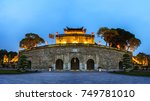 panorama central sector of... | Shutterstock . vector #749781010