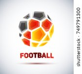 football championship banner.... | Shutterstock .eps vector #749791300