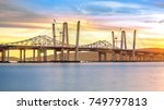 new and old tappan zee bridges... | Shutterstock . vector #749797813