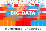 big data | Shutterstock .eps vector #749804599