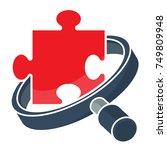 icon logo for business... | Shutterstock .eps vector #749809948
