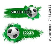 Soccer Club Or Football Sport...