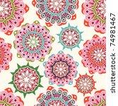 floral seamless pattern | Shutterstock .eps vector #74981467