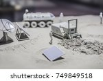 mining   natural resources | Shutterstock . vector #749849518