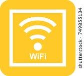 wifi sign | Shutterstock .eps vector #749855134