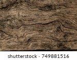 wooden texture background.... | Shutterstock . vector #749881516