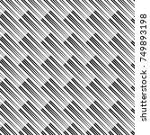 reliefless infinite diagonal... | Shutterstock .eps vector #749893198