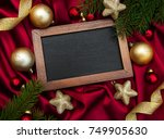 christmas holiday background  ... | Shutterstock . vector #749905630