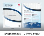 covers design with space for... | Shutterstock .eps vector #749915980