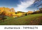 autumn in park. | Shutterstock . vector #749946274