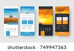 template of vector white and... | Shutterstock .eps vector #749947363